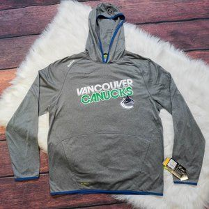 Vancouver Canucks Reebok Hoodie New with Tags